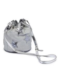 Stella Mccartney Kids Glitter star appliqué kids bucket bag