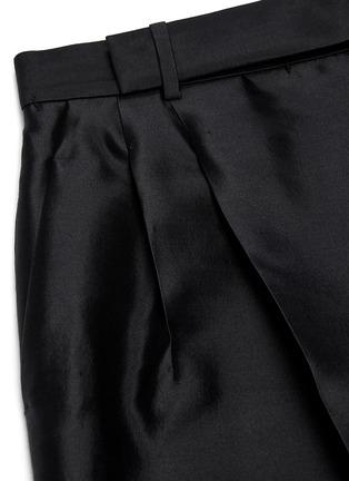 - Haider Ackermann - Pleated wool-silk twill pants