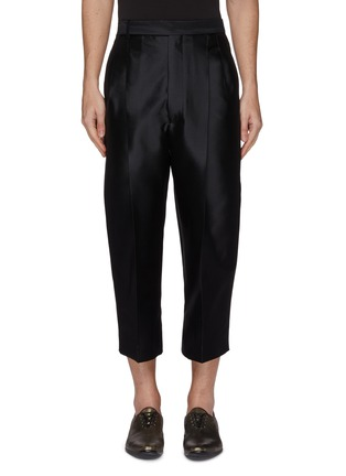 Main View - Click To Enlarge - Haider Ackermann - Pleated wool-silk twill pants