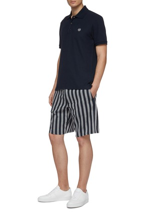 Figure View - Click To Enlarge - RAG & BONE - Dagger logo embroidered polo shirt