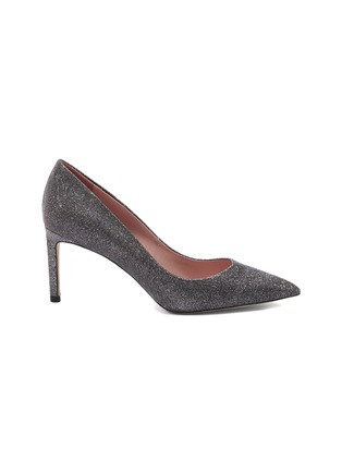 Main View - Click To Enlarge - PEDDER RED - 'Glitter Rosie' pumps