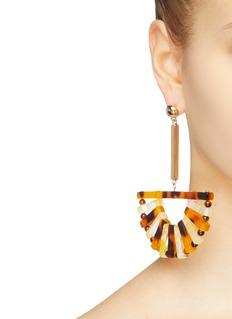 Cult Gaia 'Acrylic Ark' drop earrings