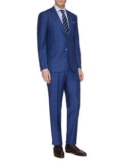 ISAIA 'Gregorio' tartan plaid wool suit