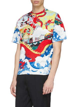 Detail View - Click To Enlarge - Angel Chen - Dragon Junk graphic print unisex T-shirt