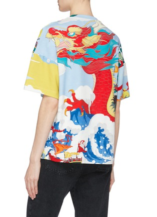 Back View - Click To Enlarge - Angel Chen - Dragon Junk graphic print unisex T-shirt