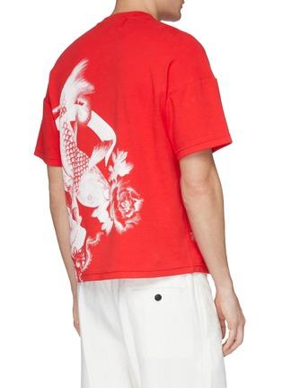 - Angel Chen - Koi fish graphic print unisex T-shirt