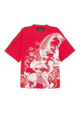Main View - Click To Enlarge - Angel Chen - Koi fish graphic print unisex T-shirt