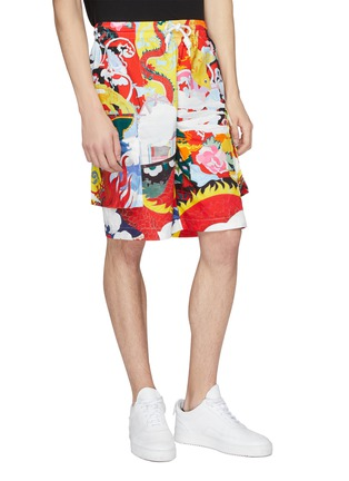 Detail View - Click To Enlarge - Angel Chen - Graphic print unisex cargo shorts