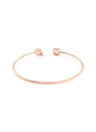 Figure View - Click To Enlarge - MESSIKA - 'My Twin Skinny' diamond 18k rose gold cuff