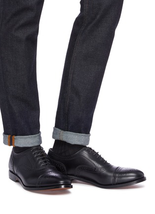 Figure View - Click To Enlarge - ALLEN EDMONDS - 'Strand' leather brogue Oxfords