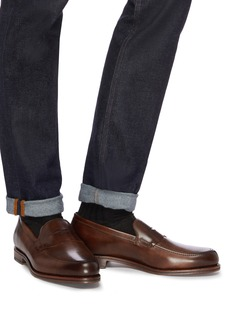 Allen Edmonds 'Wooster Street' leather penny loafers