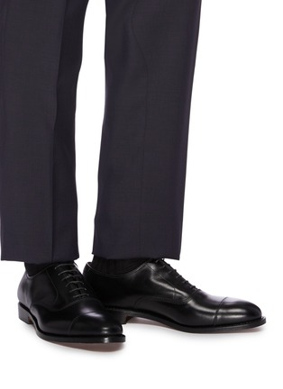 Figure View - Click To Enlarge - ALLEN EDMONDS - 'Park Avenue' leather Oxfords