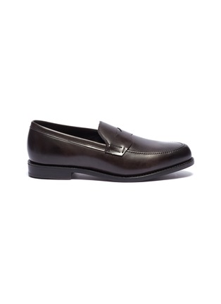 Main View - Click To Enlarge - ALLEN EDMONDS - 'Wooster Street' leather penny loafers