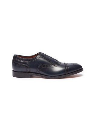Main View - Click To Enlarge - ALLEN EDMONDS - 'Strand' leather brogue Oxfords
