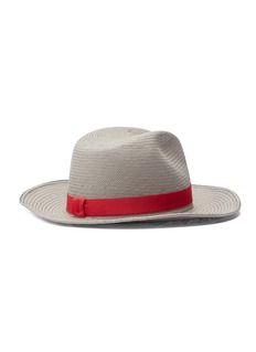 Yestadt 'Nomad' packable straw fedora hat