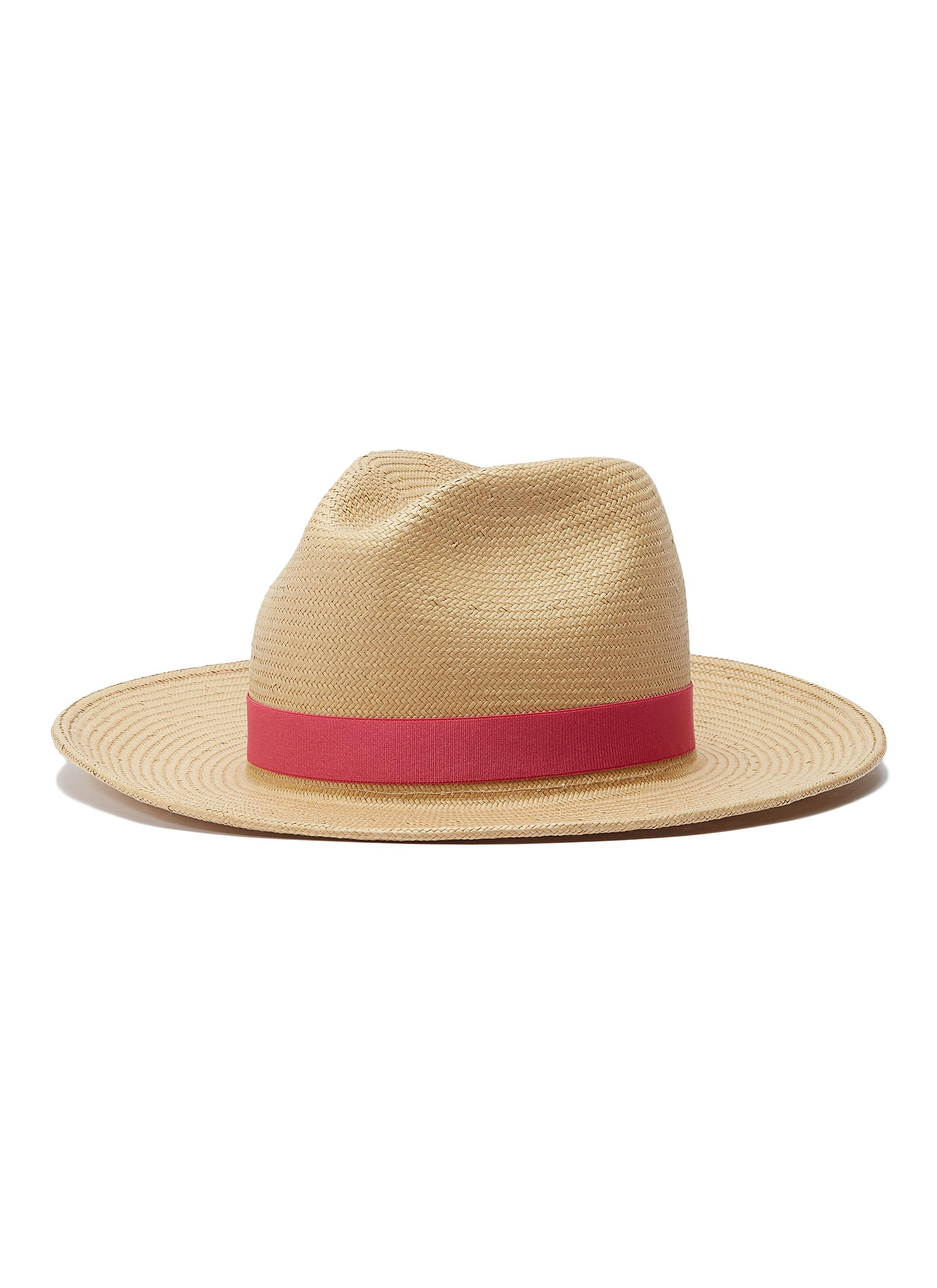 b8eb3653f5197f Main View - Click To Enlarge - YESTADT - 'Nomad' packable straw fedora hat