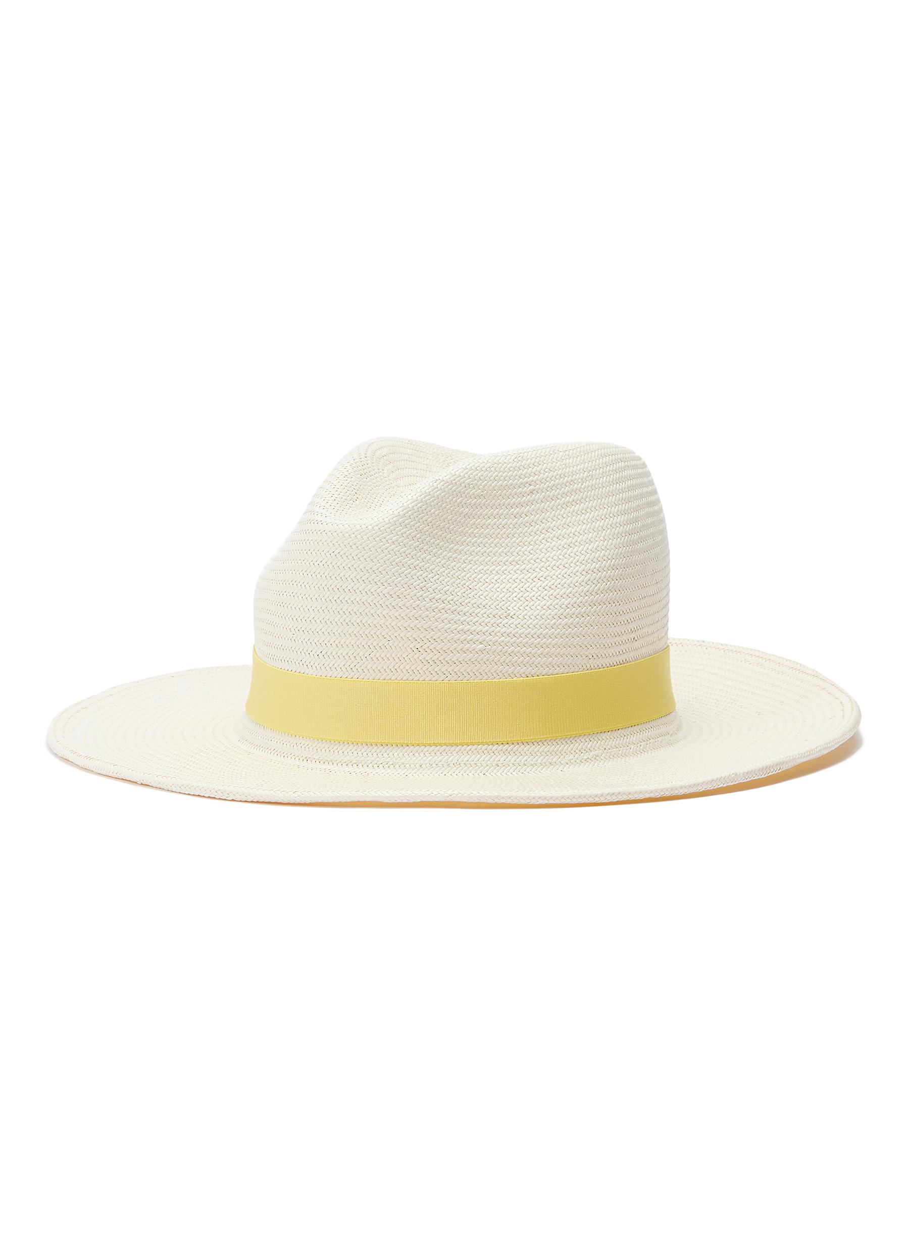 94f5e15448aaa4 Main View - Click To Enlarge - Yestadt - 'Nomad' packable straw fedora hat