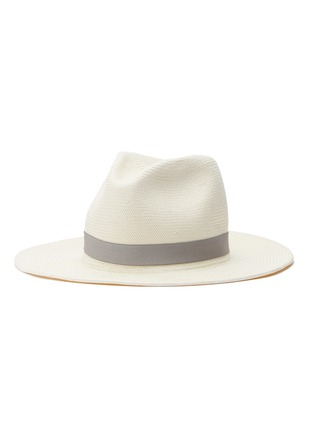 Main View - Click To Enlarge - Yestadt - 'Nomad' packable straw fedora hat