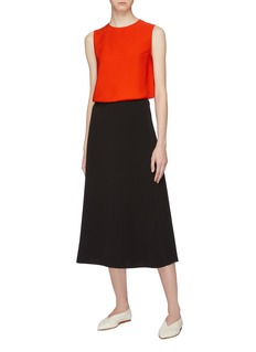 Theory 'Continuous' silk sleeveless top