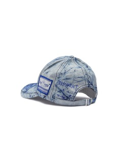 SMFK 'Shadow' ceramic star tie-dye baseball cap