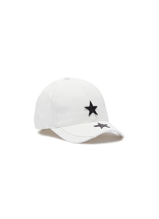 Main View - Click To Enlarge - SMFK - x R!CH 'Gemini' star appliqué DuPont™ paper baseball cap