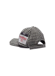 SMFK 'Shadow' ceramic star houndstooth baseball cap