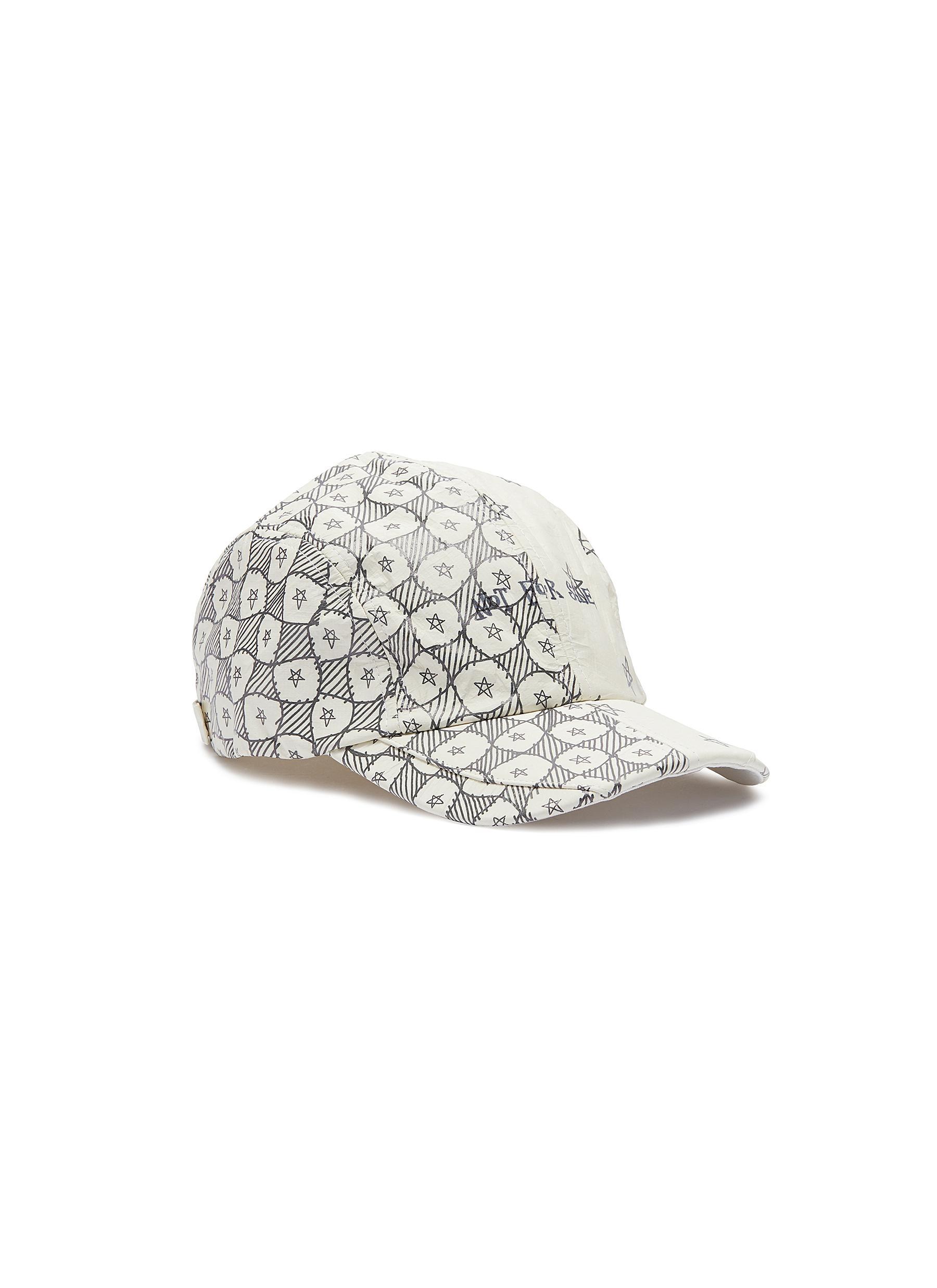 14ff98d33a011e SMFK | 'Not For Sale' star doodle print patchwork baseball cap ...