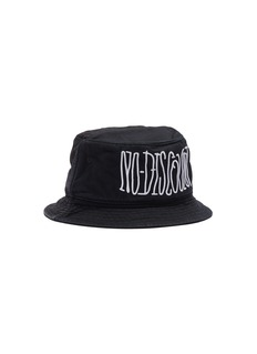 SMFK 'Time Traveller' slogan embroidered patchwork bucket hat