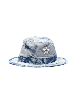 Main View - Click To Enlarge - SMFK - 'Shadow' ceramic star tie-dye bucket hat