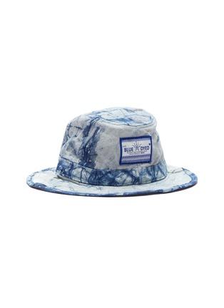 Figure View - Click To Enlarge - SMFK - 'Shadow' ceramic star tie-dye bucket hat