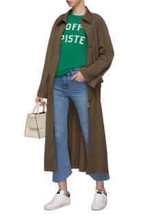 Frame Denim 'Le Crop Mini Boot' gusset cuff jeans