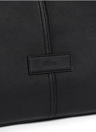 - Alexander McQueen - Leather manta carryall bag