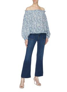 Frame Denim 'Le Bardot' cropped flared jeans