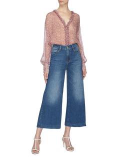 Frame Denim 'Le Vintage' denim culottes