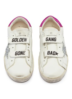 Golden Goose 'Old School' leather toddler sneakers