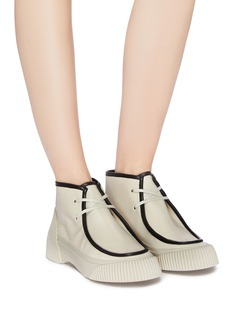 3.1 Phillip Lim 'Lela' vulcanised outsole lace-up ankle boots
