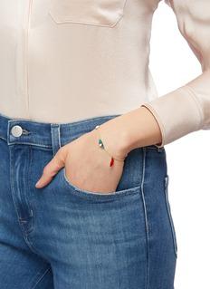 OOAK Opal charm bracelet