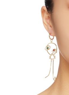 OOAK 'Dancer' single drop earring