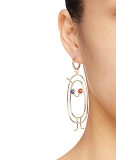 OOAK 'Smile' single drop earring
