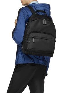 Prada Logo plate backpack