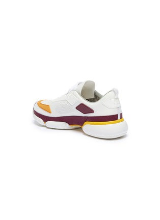 - Prada - 'Cloudbust' colourblock panelled sneakers