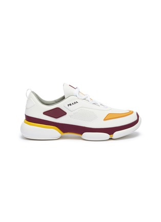 Main View - Click To Enlarge - Prada - 'Cloudbust' colourblock panelled sneakers