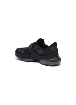 - PRADA - 'Cloudbust' textile hook-and-loop strap panelled sneakers