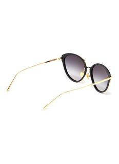Linda Farrow Acetate rim cat eye sunglasses