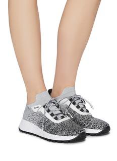 Prada Colourblock sock knit sneakers
