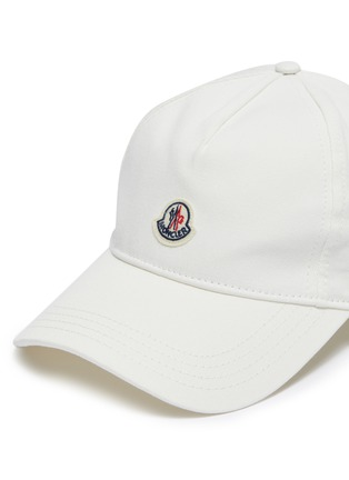 Detail View - Click To Enlarge - Moncler - Logo patch baseball cap eac6623e8df