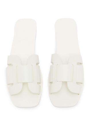 Detail View - Click To Enlarge - MERCEDES CASTILLO - 'Coraline' cutout leather slide sandals