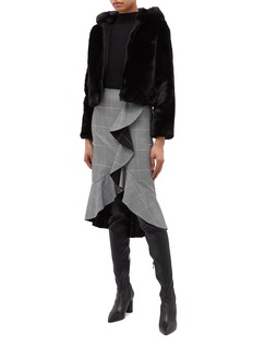 EQUIL 'Pole' hooded faux fur jacket
