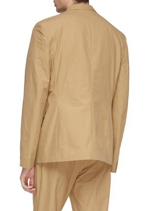 Back View - Click To Enlarge - Acne Studios - Slim fit soft blazer