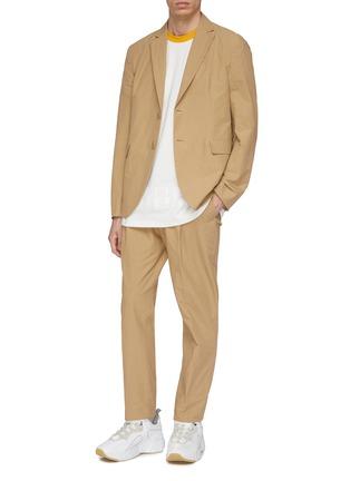 Figure View - Click To Enlarge - Acne Studios - Slim fit soft blazer
